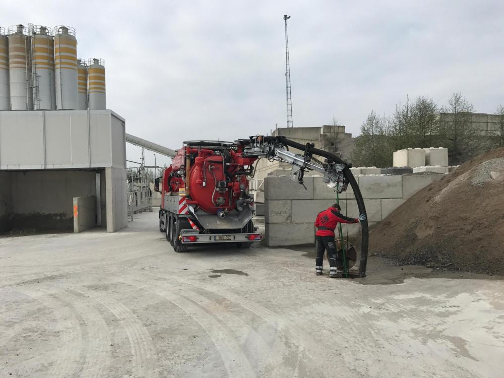 Camion d'hydrocurage